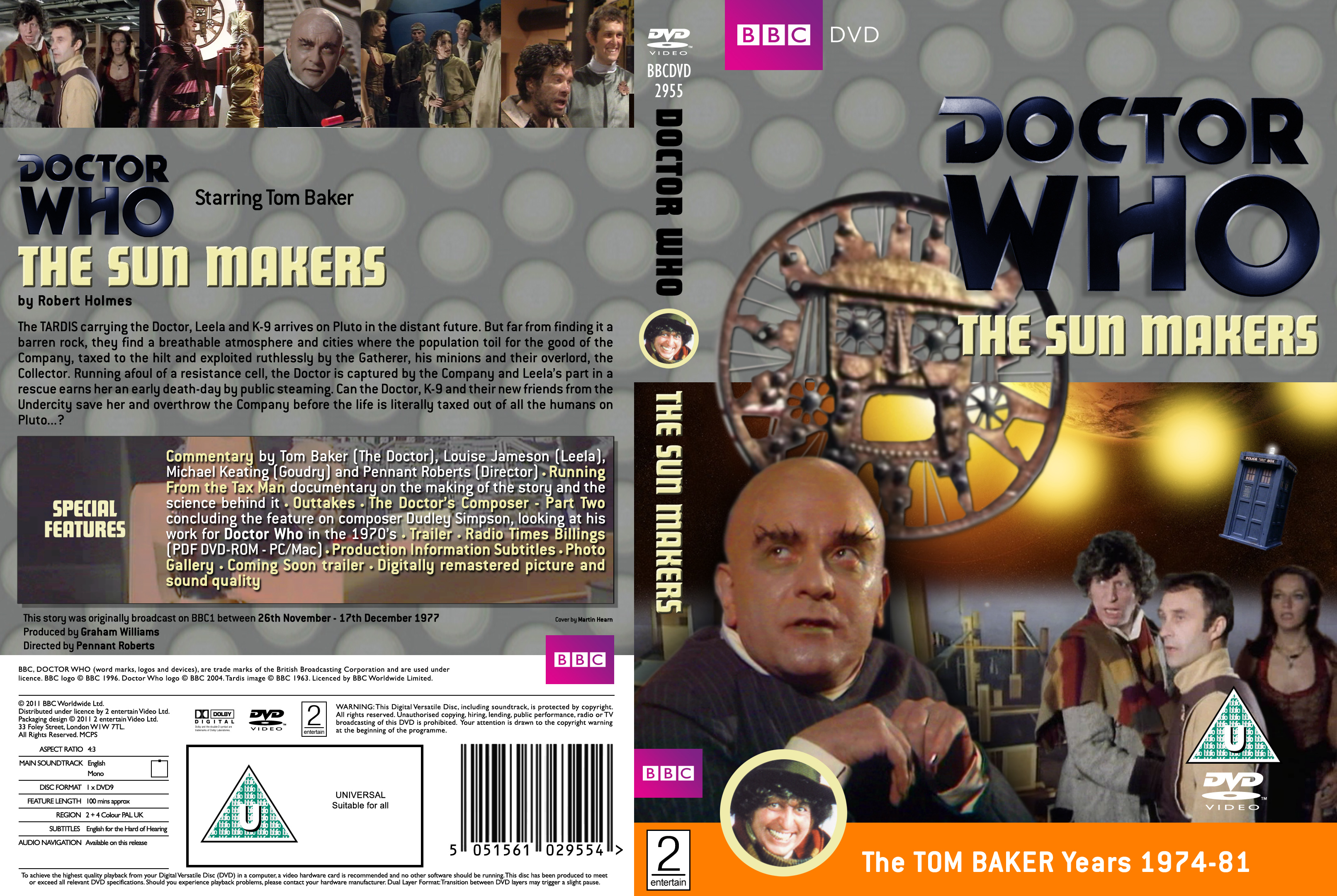 The Sun Makers R2 Dvd Official Bbc Style