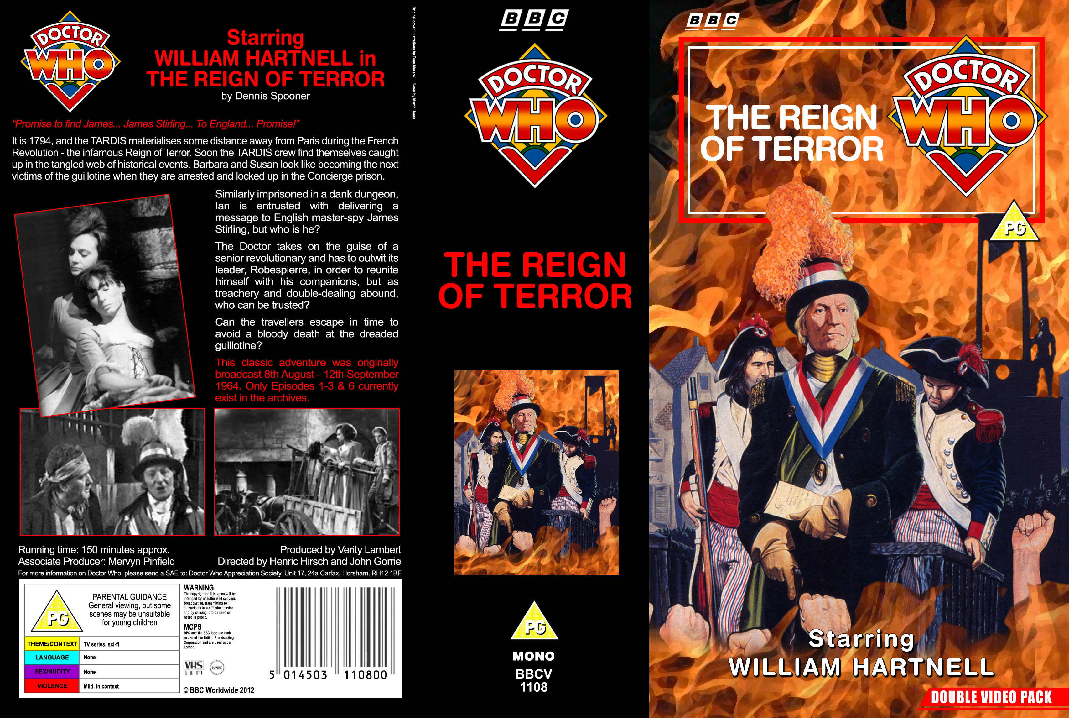 the reign of terror vhs 1974style