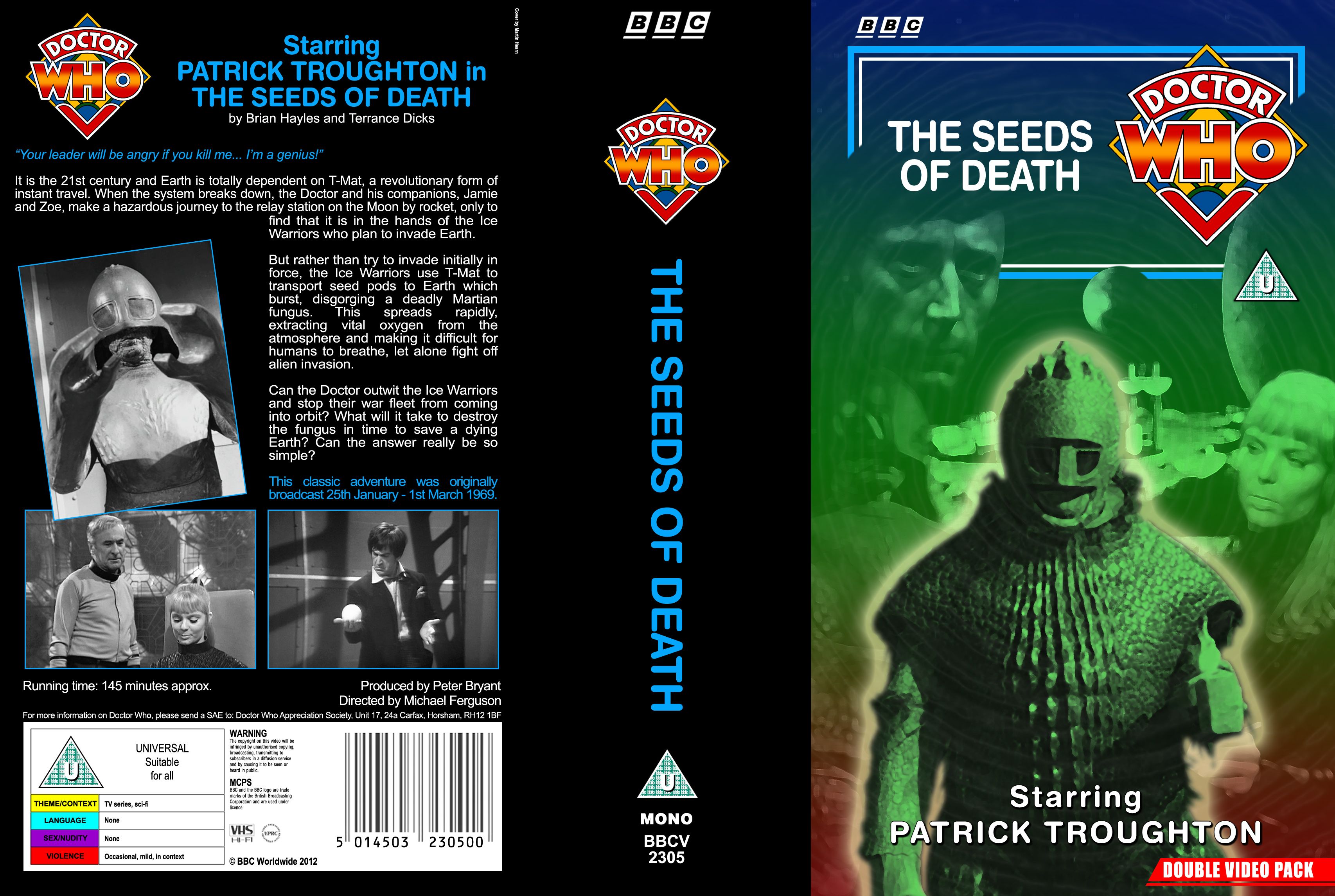 """the seeds of death """"you dispatched the seeds in so doing you destroyed your entire species what is the death of one man compared to that"""" – slaar storyline."""