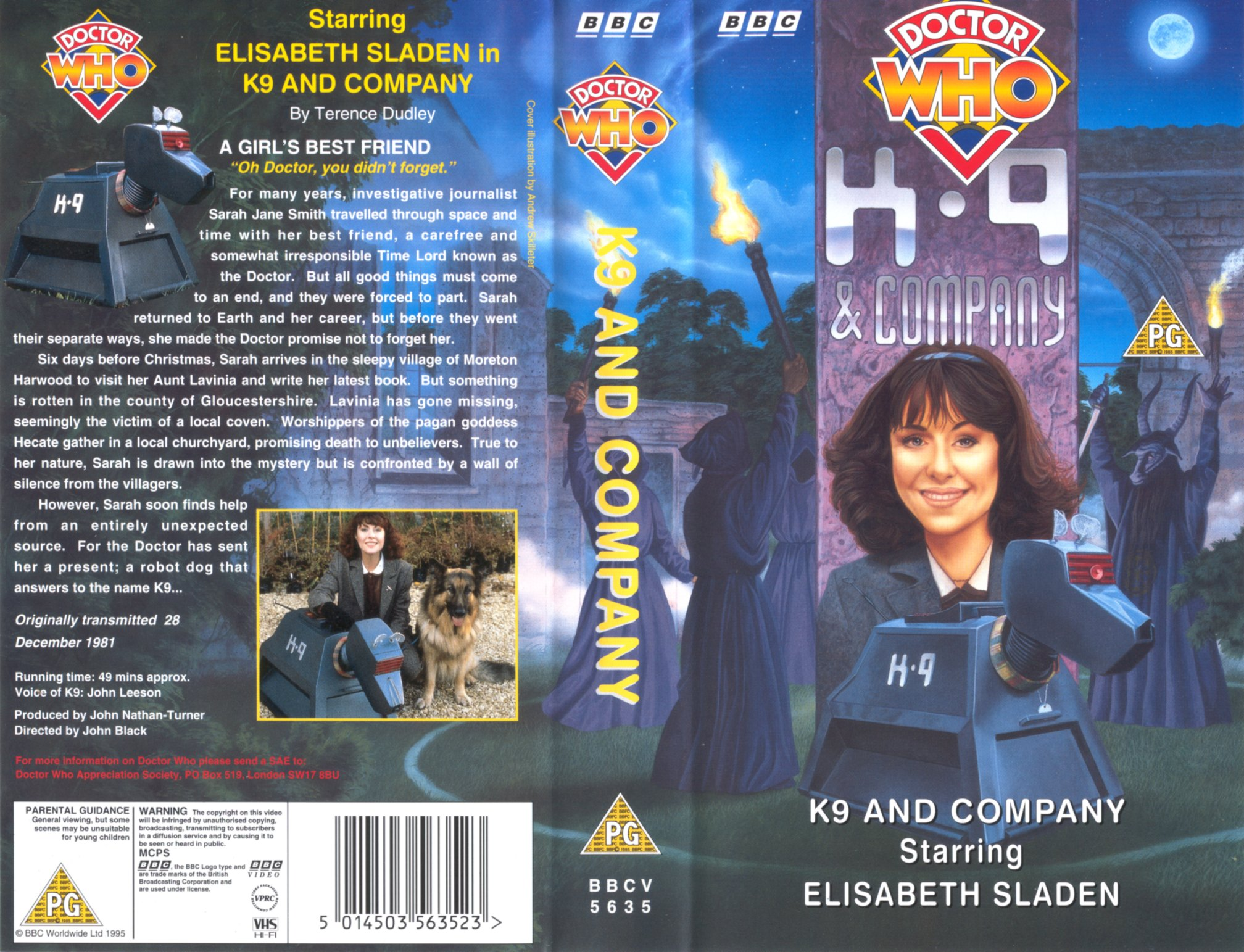 k9 and company covers