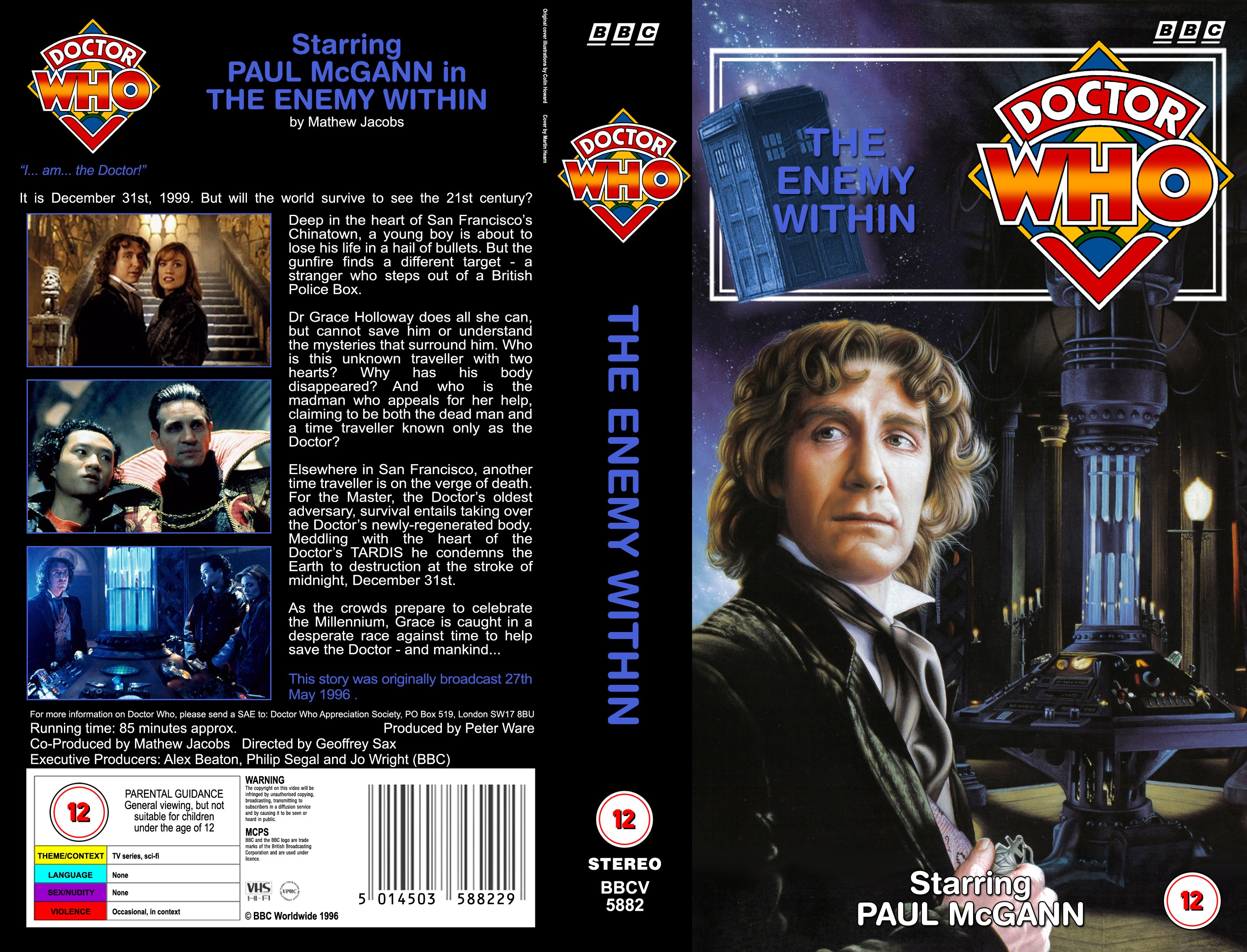 the 1996 tv movie covers