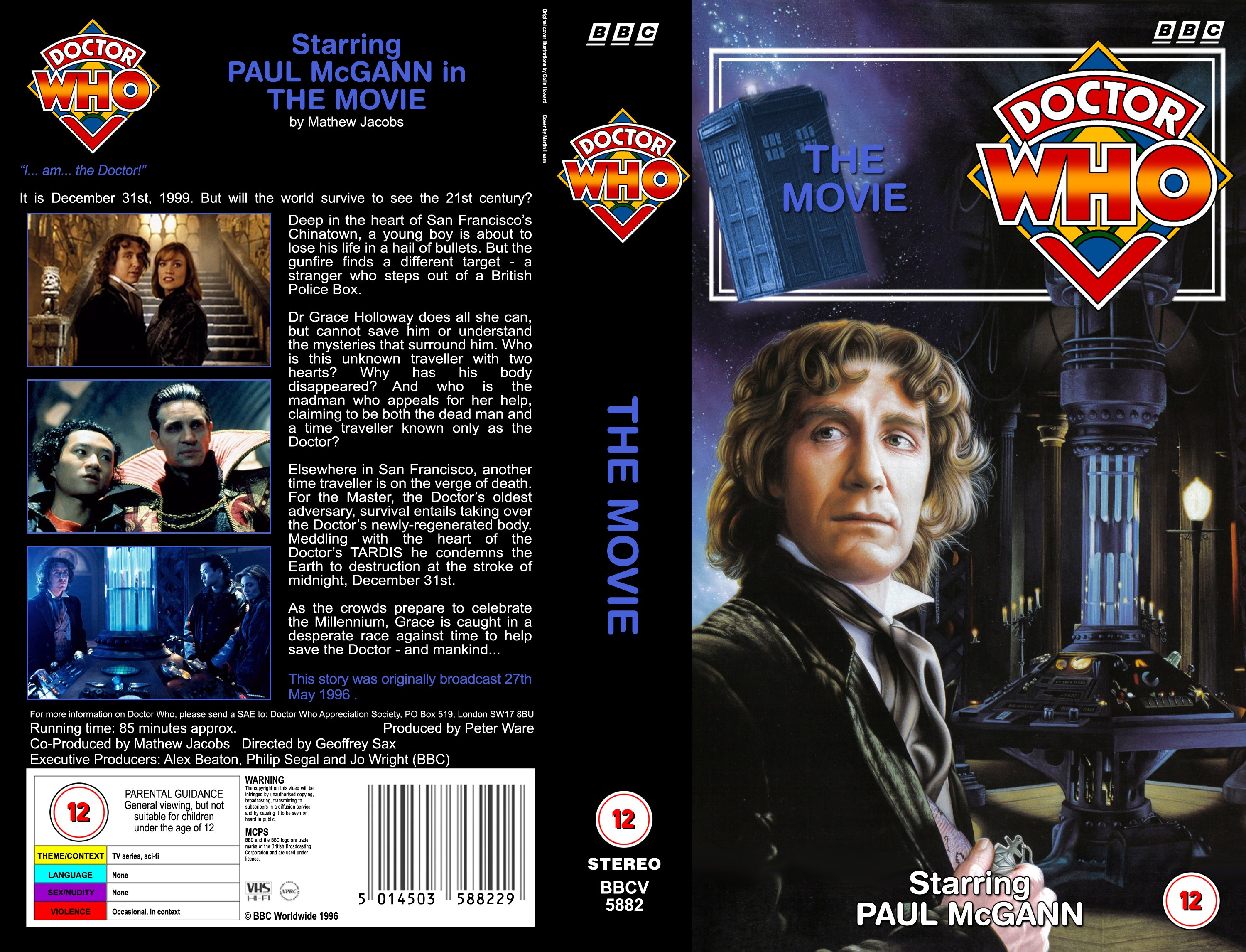 dvd flick menu templates - the 1996 tv movie covers