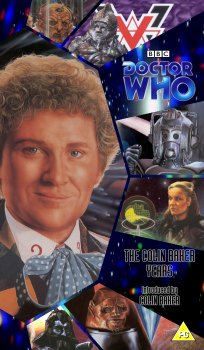 My cover for The Colin Baker Years using artwork