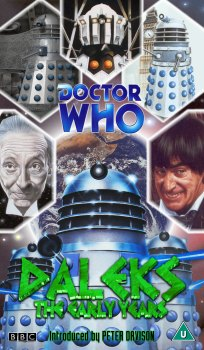 My artwork cover for Daleks: The Early Years