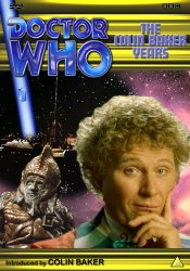 My new DVD template cover for The Colin Baker Years