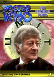 My new DVD template cover for The Pertwee Years