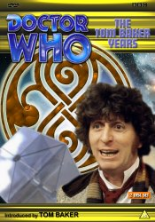 My new DVD template cover for The Tom Baker Years