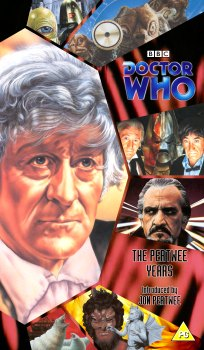 My cover for The Pertwee Years using artwork