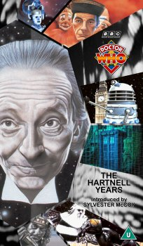 My cover for The Hartnell Years using artwork