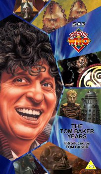 My single pack artwork cover for The Tom Baker Years