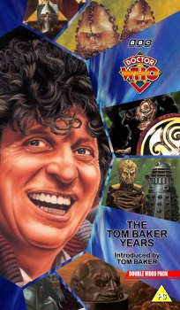 My double pack artwork cover for The Tom Baker Years