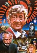Kevin's Jon Pertwee artwork now available as a postcard - click here to go to Kevin's site!