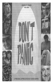 DON'T PANIC - Tribute to Douglas Adams