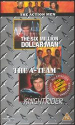 The Action Men pack on VHS - November's prize on the PPS website!