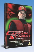 New Captain Scarlet Volum 1 on DVD - the prize for March!