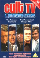 Cult TV Legends on DVD - this month's action-packed prize!