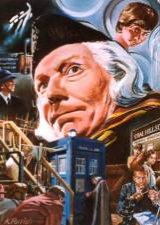Kevin Parrish's beautiful painting of the first Doctor Who story - An Unearthly Child