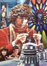 'Have I the right?' Kevin Parrish's lovely rendering of Tom Baker's Doctor surrounded by friends and foes