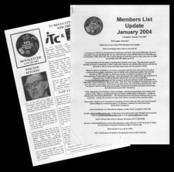PPS List & Newsletter - January 2004