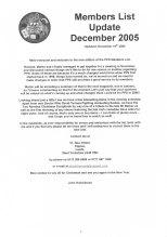 PPS List December 2005