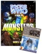 Doctor Who - A Book of Monsters and The Dalek Invasion of Earth on DVD - November's super Who prize!