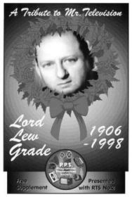 Trbute to Lord Lew Grade and Michael Craze supplement