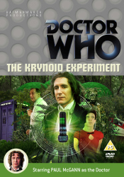 Benjamin's Region 2 DVD cover for The Krynoid Experiment