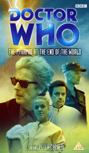 Benjamin's retro VHS cover for The Pyramid at the End of the World