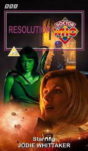 Benjamin's retro VHS cover for Resolution