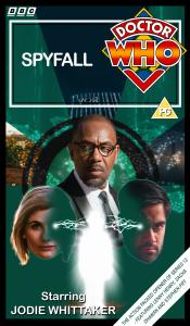 Benjamin's retro VHS cover for Spyfall (Complete)