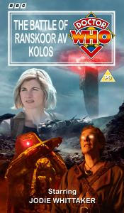 Benjamin's retro VHS cover for The Battle of Ranskoor Av Kolos