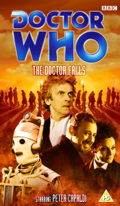 Benjamin's retro VHS cover for The Doctor Falls
