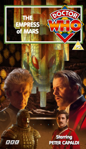 Benjamin's retro VHS cover for The Empress of Mars