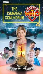 Benjamin's retro VHS cover for The Tsuranga Conundrum