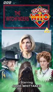 Benjamin's retro VHS cover for The Witchfinders