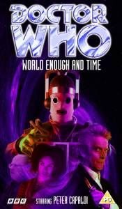 Benjamin's retro VHS cover for World Enough and Time