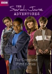 Charlie's DVD cover for The Sarah Jane Adventures - Series 1