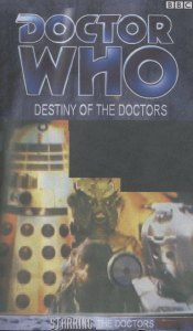 Stephen Reynolds' cover for Destiny of the Doctors